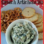 Fat Free Spinach Artichoke Dip