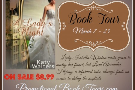 A Lady's Plight by Katy Walters $25 Amazon Giftcard Giveaway