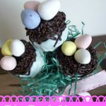 Bird's Nest Cake Ball Pops