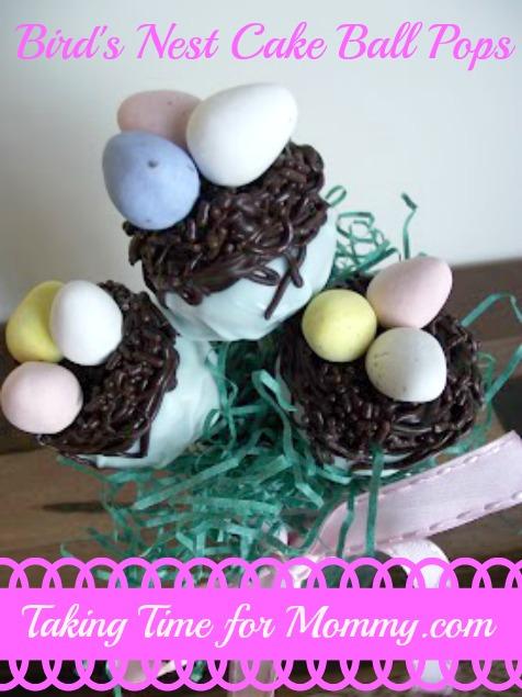 Bird's Nest Cake PopsTTFM