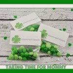 DIY Shamrock Seeds Gift Bags w/ Printable