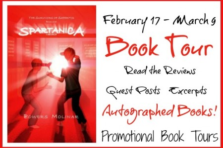 Spartanica by Powers Molinar #BookReview #Giveaway