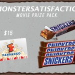 Snickers Movie Pack Fandango Gift Card Giveaway #MONSTERSATISFACTION
