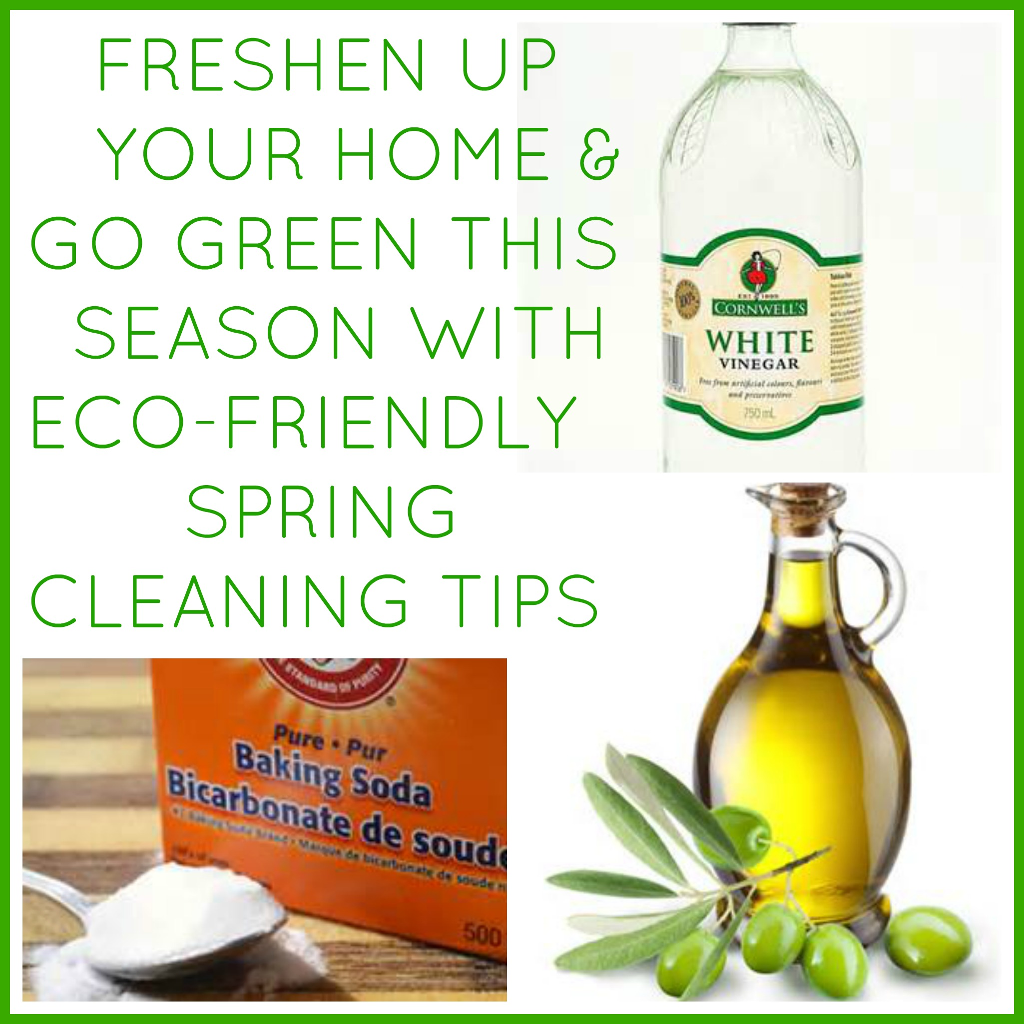 Eco friendly spring cleaning tips - Eco friendly ideas ...