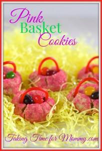 Recipe – Pink Basket Cookies