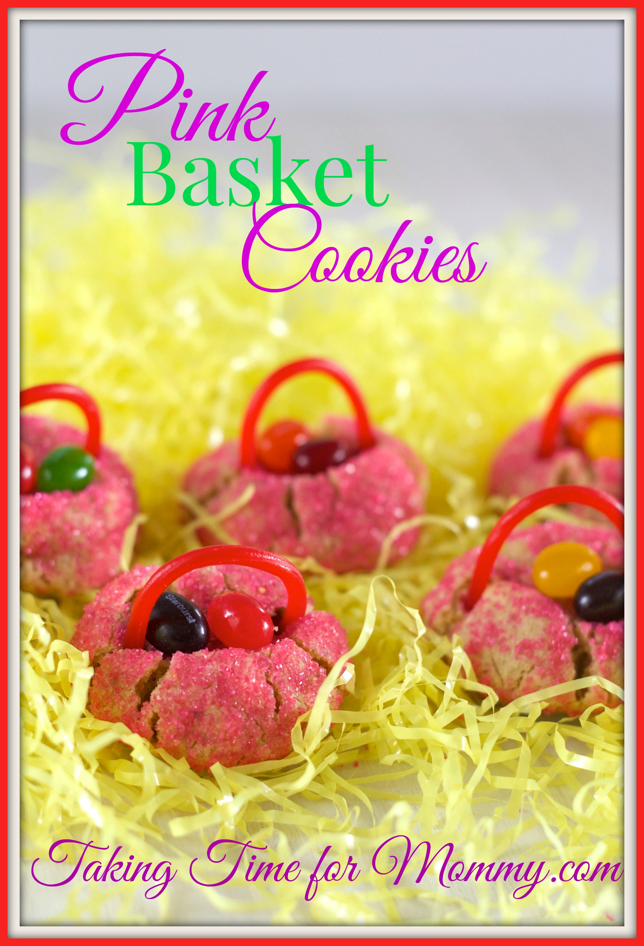 PinkBasketCookies