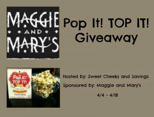 Pop It TOP It Giveaway