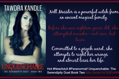 Unquenchable by Tawdra Kandle Release Day