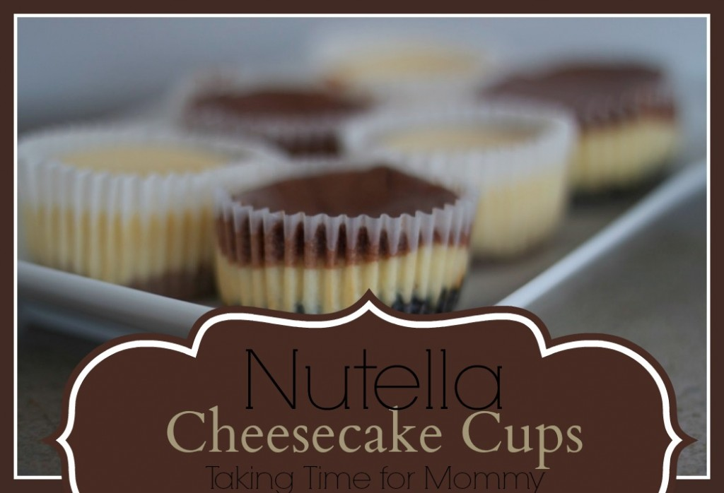 nutellacheesecakecups