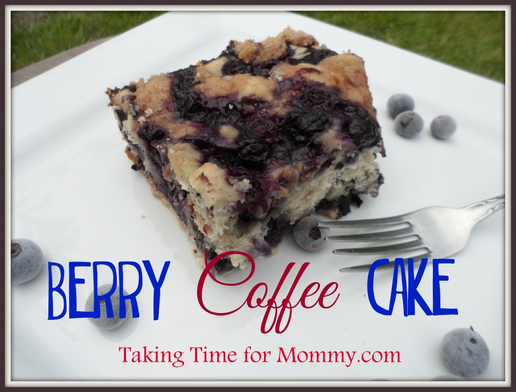 Blueberry Coffee Cakebanner