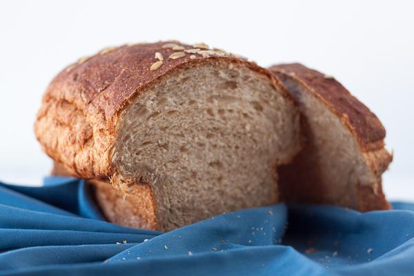 Buttermilk Oatmeal Bread Plain-14