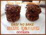 Easy No-Bake Chocolate Peanut Butter Cookies