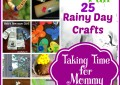 25 Rainy Day Crafts