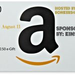 $150 Amazon e-gift card giveaway