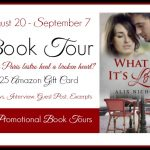 What If It's Love by Alix Nichols #Book #Blast