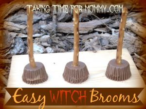 Easy Witch Broom Snacks
