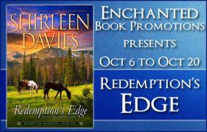 Redemption's Edge by Shirleen Davies Book Excerpt #Giveaway