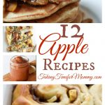 12 Delicious Apple Recipes for Fall @foodie @foodiebyglam