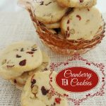 Cranberry Tea Cookies Recipe