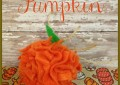 Easy Felt Pumpkin Craft