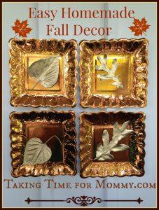 Easy Homemade Fall Décor Craft