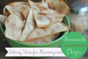 Homemade Cinnamon Sugar Chips