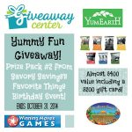 Savory Savings Golden Birthday Giveaway Extravaganza!  Prize Pack #2: Yummy Fun