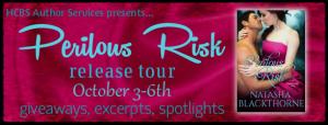 Perilous Risk by Natasha Blackthorne #Excerpt #Giveaway