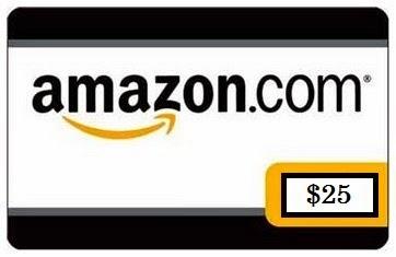 Amazon Gift Card - 25
