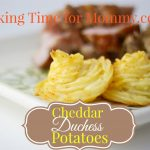 Cheddar Duchess Potatoes Recipe