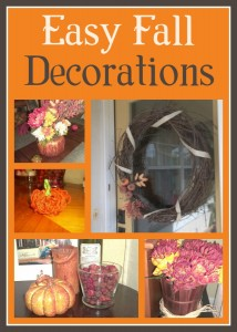 Easy Fall Decorations