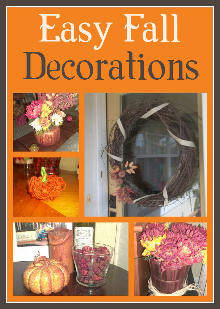 Easy Fall Kids Crafts That Anyone Can Make: Easy Fall Decorations