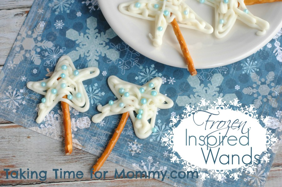 Frozen Inspired Chocolate Wands Recipe