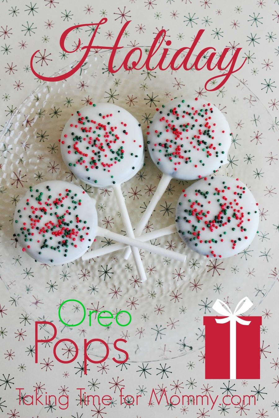 Holiday Oreo Pops Recipe