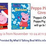 Peppa Pig 2 DVD Giveaway