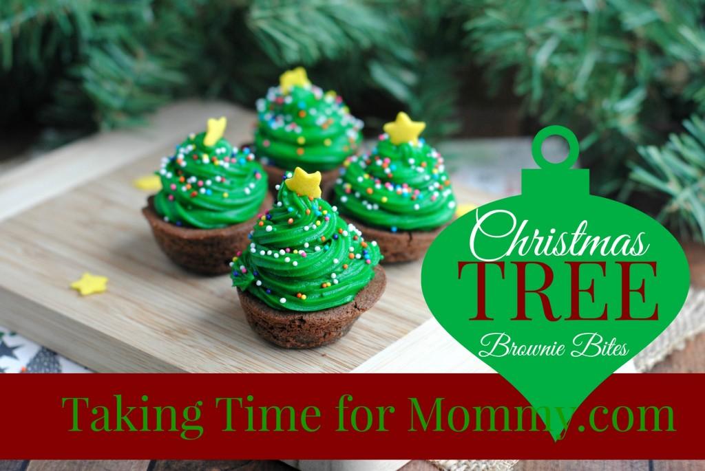 ChristmasTreeBrownieBites