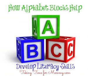 How Alphabet Blocks Help Develop Literacy Skills