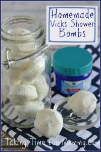 Vicks Shower Bomb Recipe