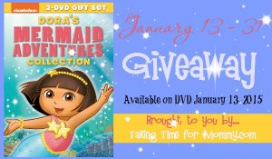 DORA THE EXPLORER: MERMAID ADVENTURES COLLECTION DVD #Giveaway