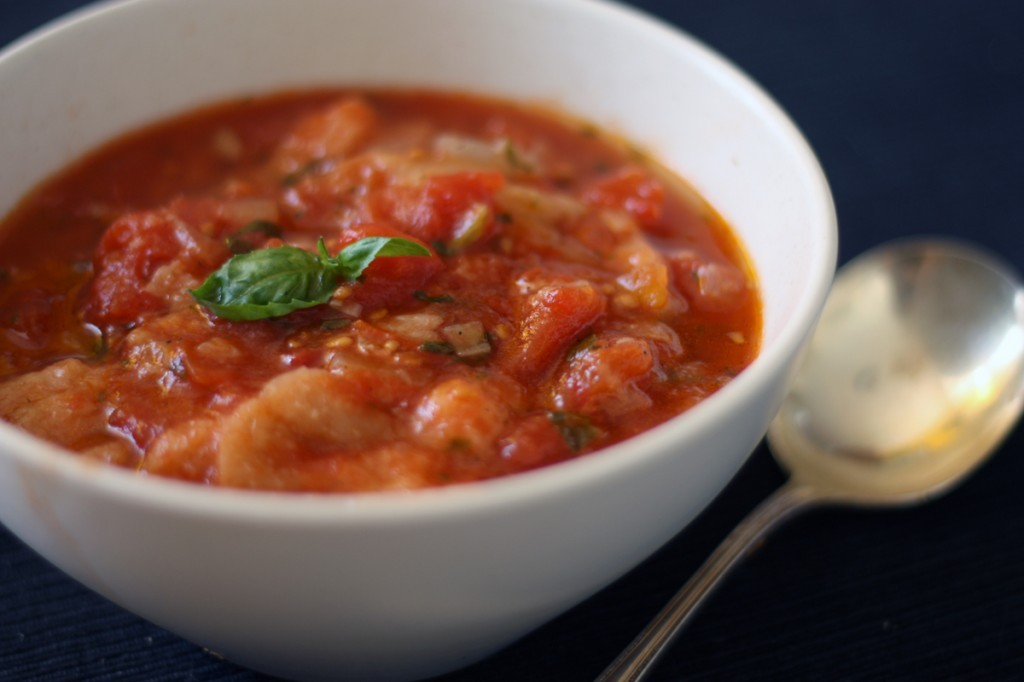 Tomato Bread Soup #Recipe -