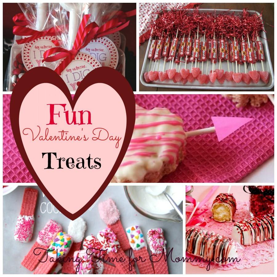 Easy to Make Valentine's Day Treats
