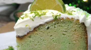 Leprechaun Lime Cake