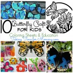 10 Butterfly Crafts for Kids