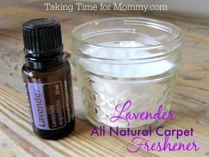 Easy Lavender All Natural Carpet Freshener