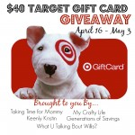 $40 Target Gift Card Giveaway