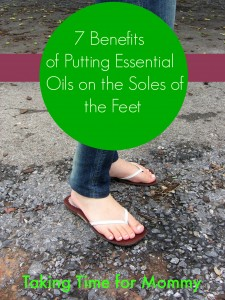 7 Benefits of Putting Essential Oils on the Soles of the Feet