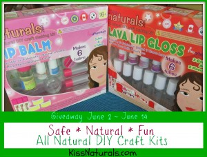 Kiss Naturals All Natural DIY Craft Kits Review and Giveaway