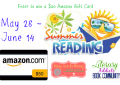 Summer Reading $50 Amazon Gift Card Giveaway