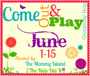 Come Out & Play Giveaway Hop June 1 – 15 #ComePlay