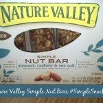 Nature Valley Simple Nut Bars #simplesnacking $25 Paypal #Giveaway